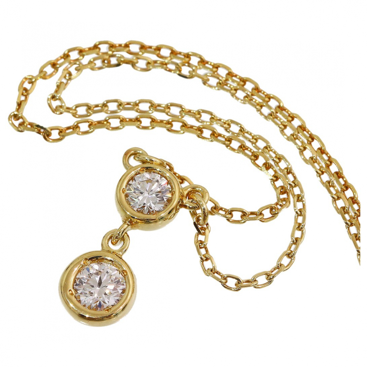 Mikimoto \N Kette in Gelbgold