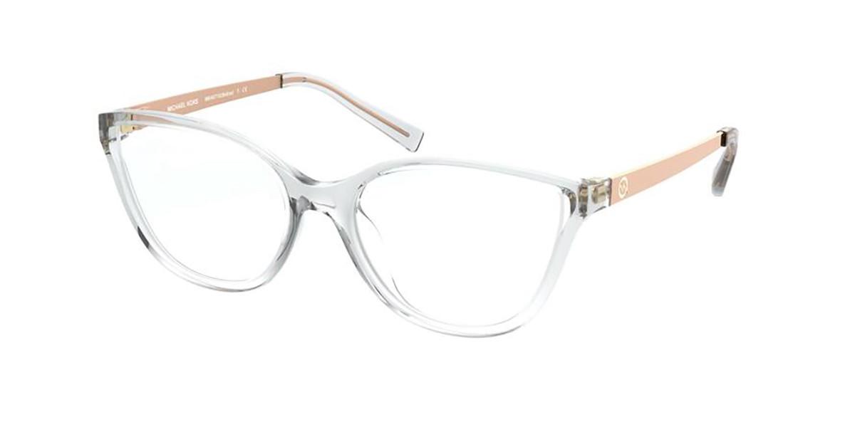 Michael Kors MK4071U BELIZE 3050 Women's Glasses Clear Size 53 - Free Lenses - HSA/FSA Insurance - Blue Light Block Available