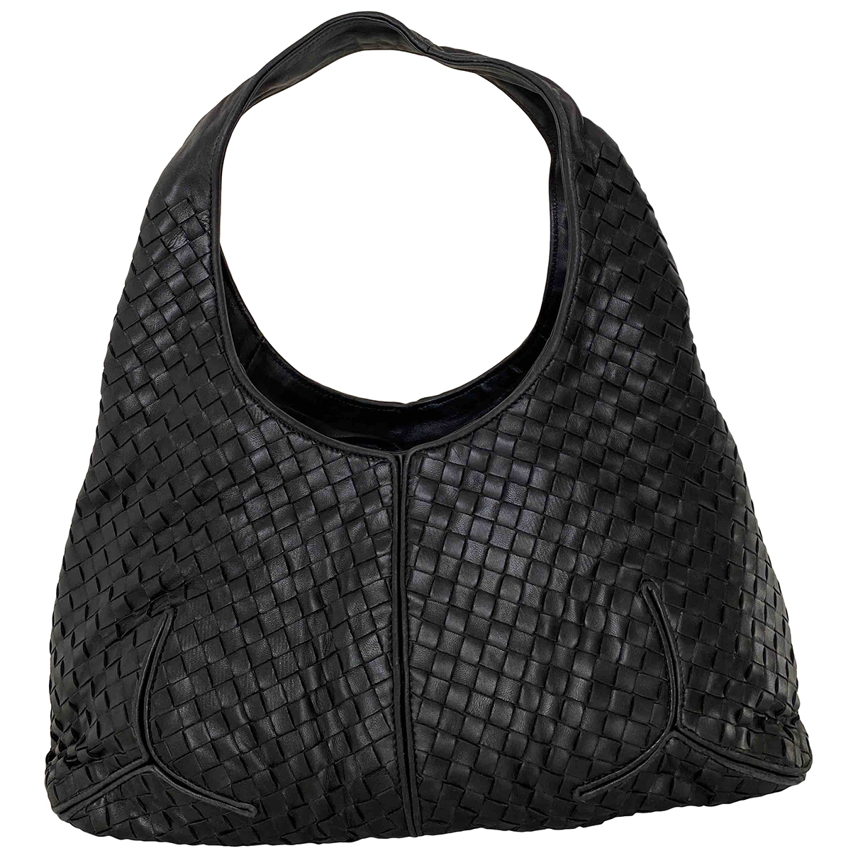 Bottega Veneta Veneta Black Leather handbag for Women \N