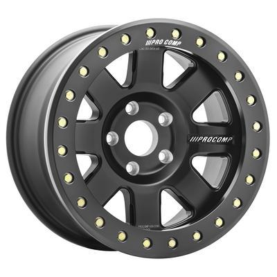 Pro Comp 75 Series Trilogy Race Wheel, 17x9 with 5 on 5.5 Bolt Pattern - Satin Black - 5175-798537
