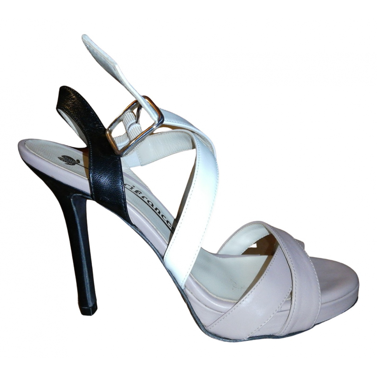 Fiorifrancesi N Leather Sandals for Women 37.5 IT