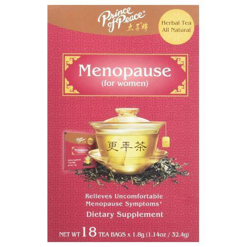 Herbal Tea Menopause 18 Bags by Prince Of Peace