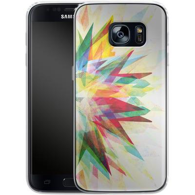 Samsung Galaxy S7 Silikon Handyhuelle - Colorful 6 von Mareike Bohmer