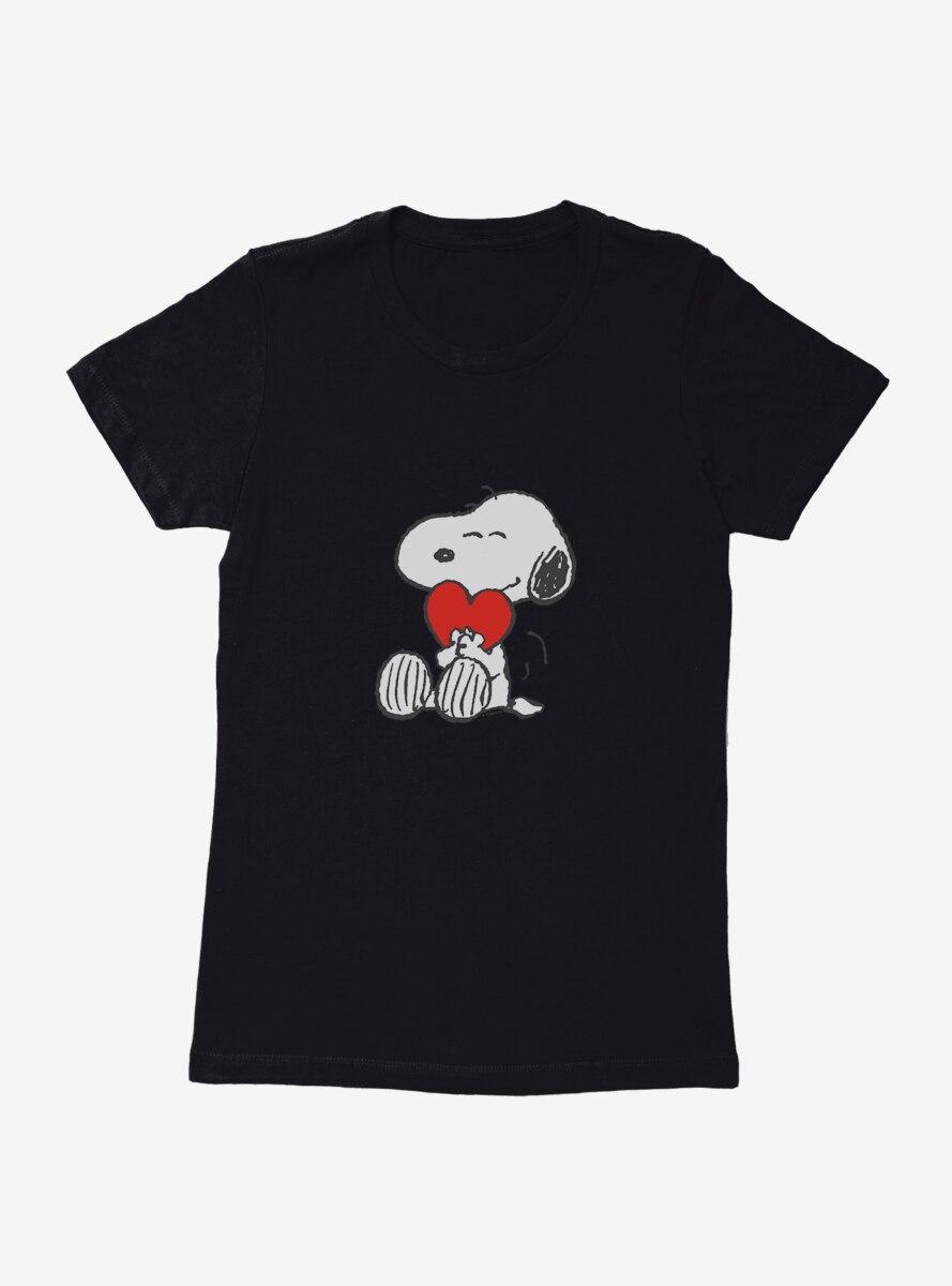 Peanuts Snoopy Valentine Love Womens T-Shirt