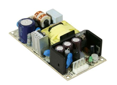 Mean Well , 36W Embedded Switch Mode Power Supply SMPS, 15V dc, Open Frame