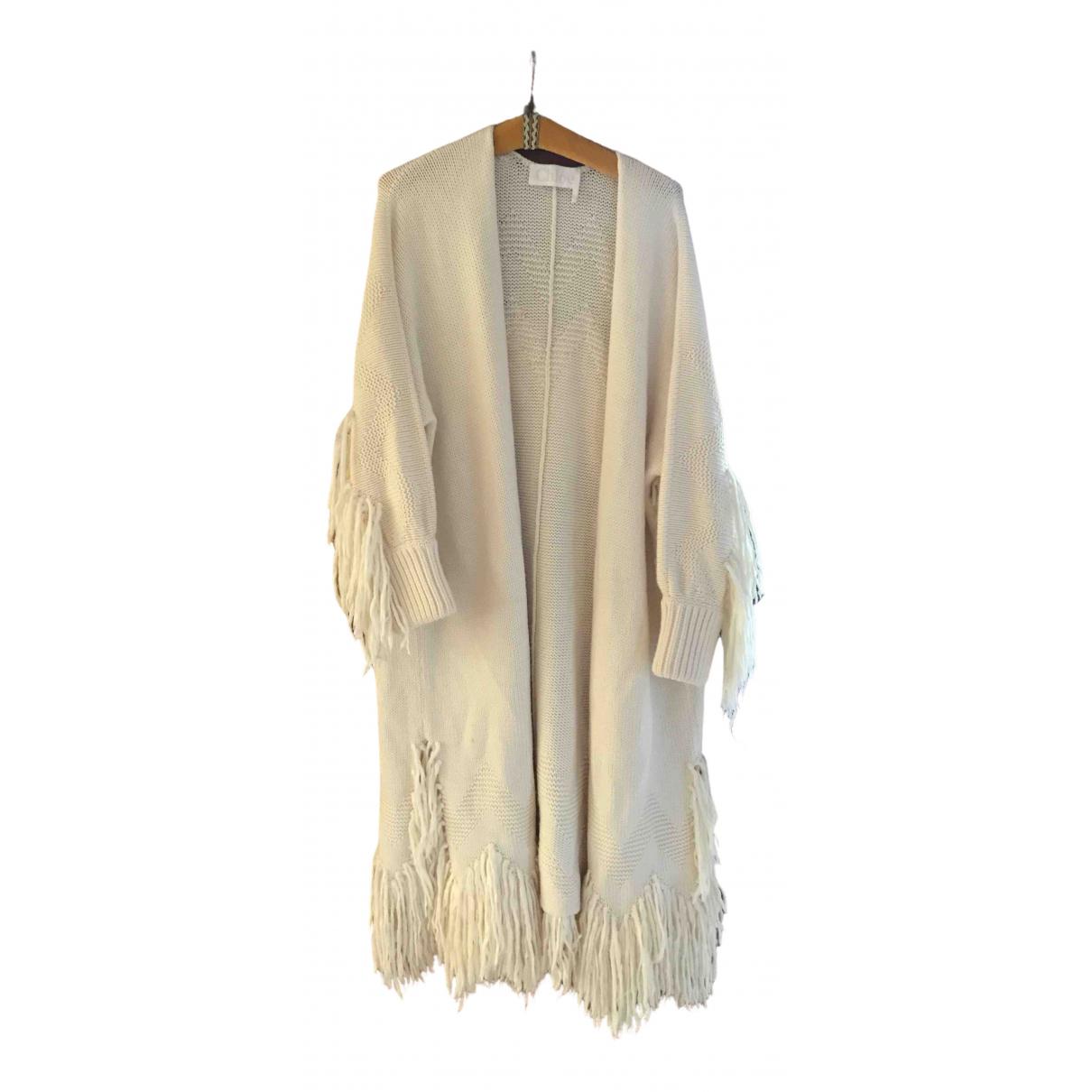 Chloé \N White Wool coat for Women M International