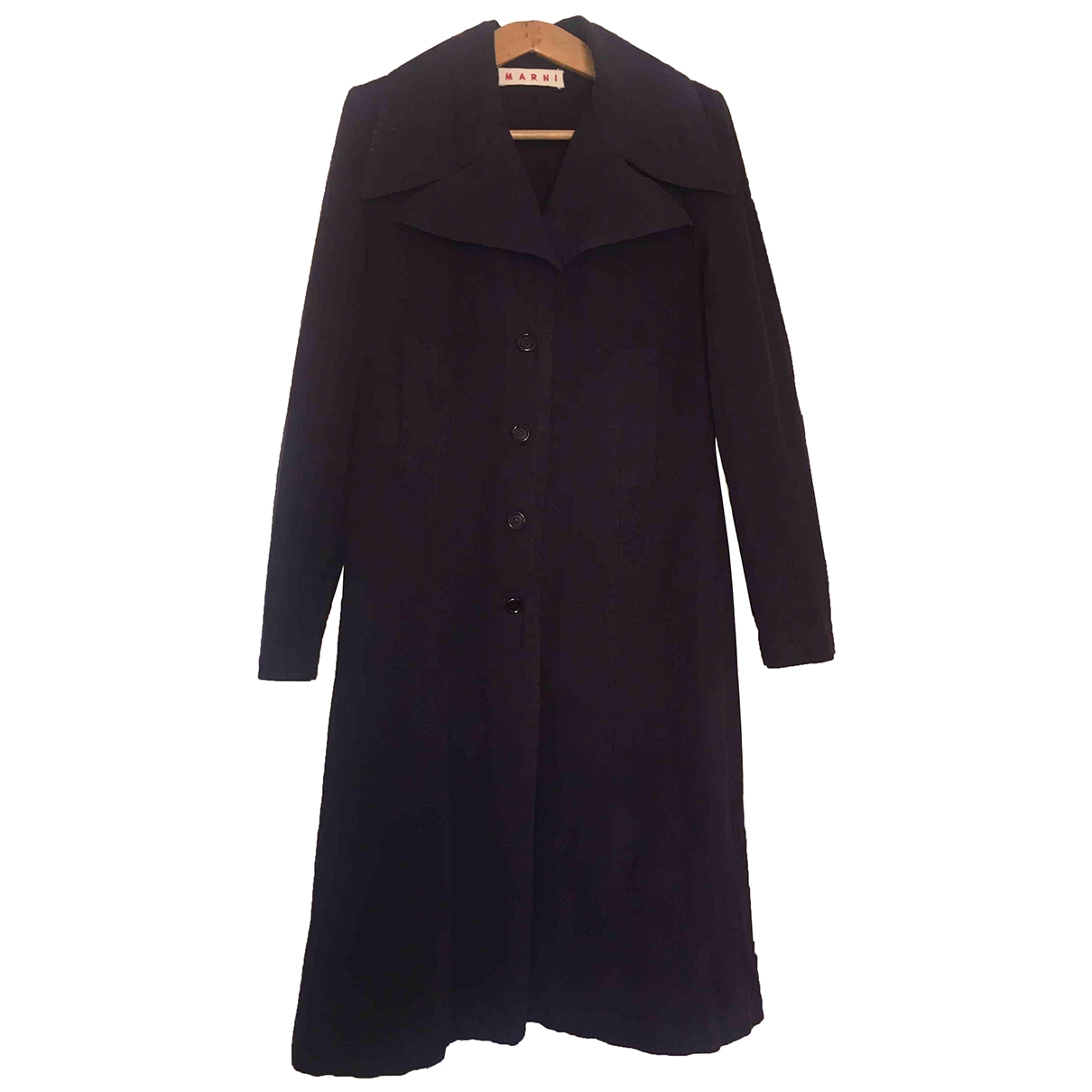 Marni \N Cotton coat for Women 44 IT