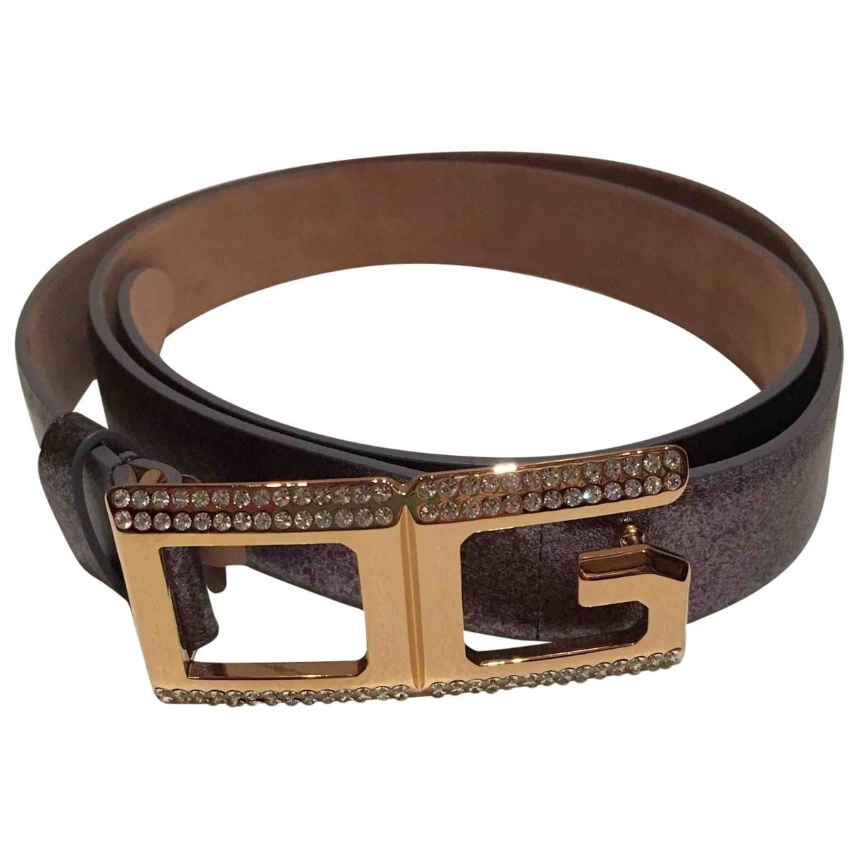 Dolce & Gabbana \N Multicolour Leather belt for Women 95 cm