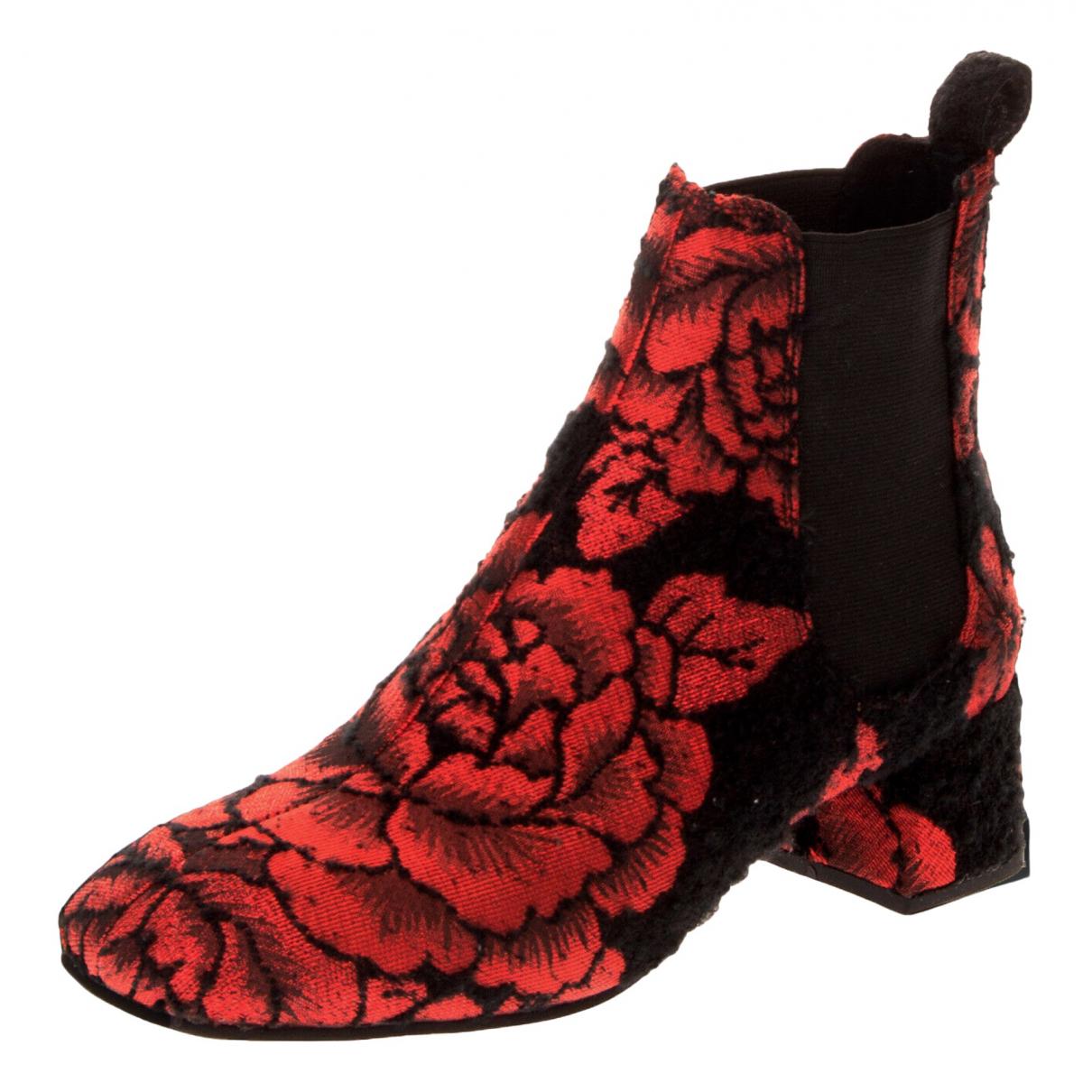 Jeffrey Campbell - Boots   pour femme en tweed - noir