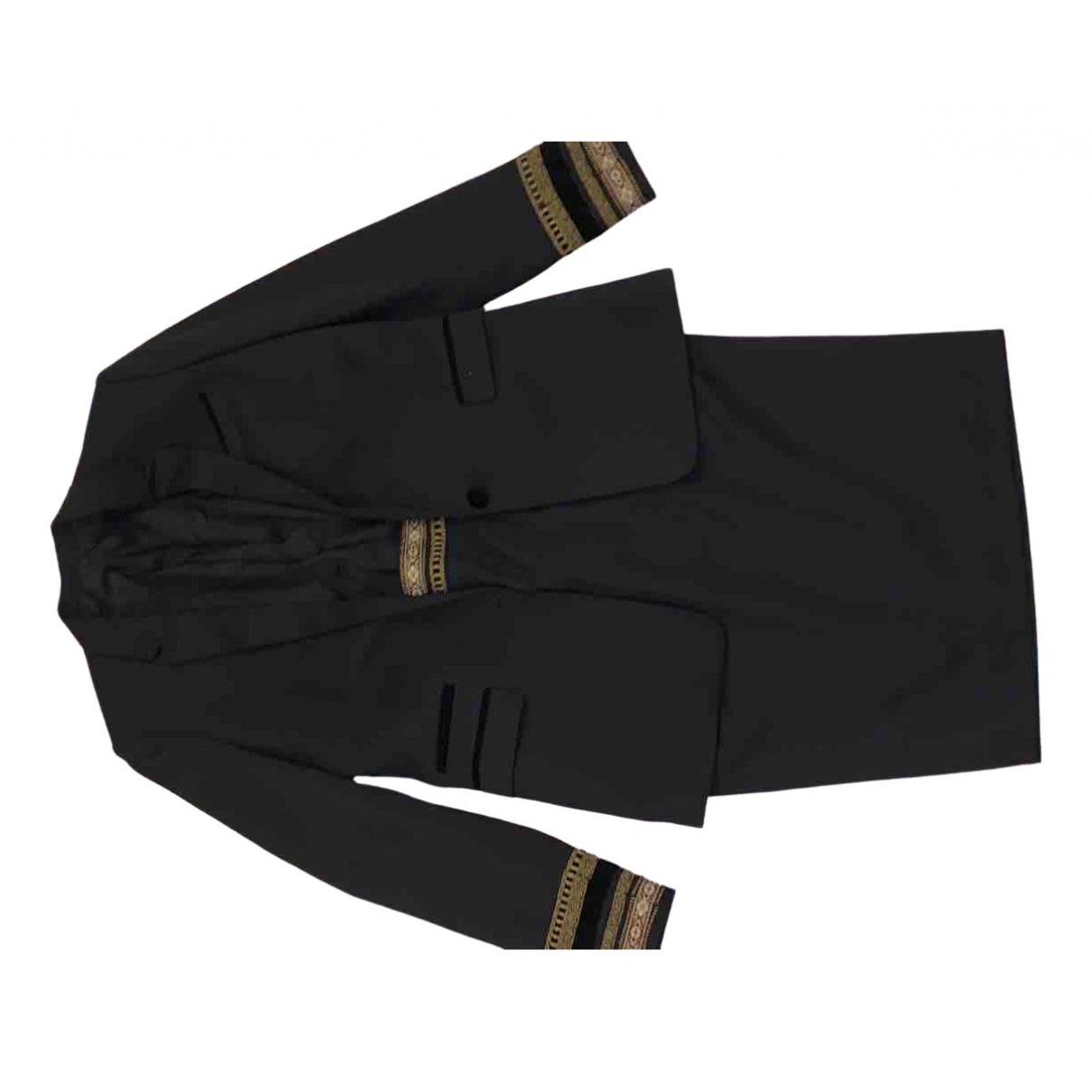 The Kooples - Veste   pour femme en coton - noir