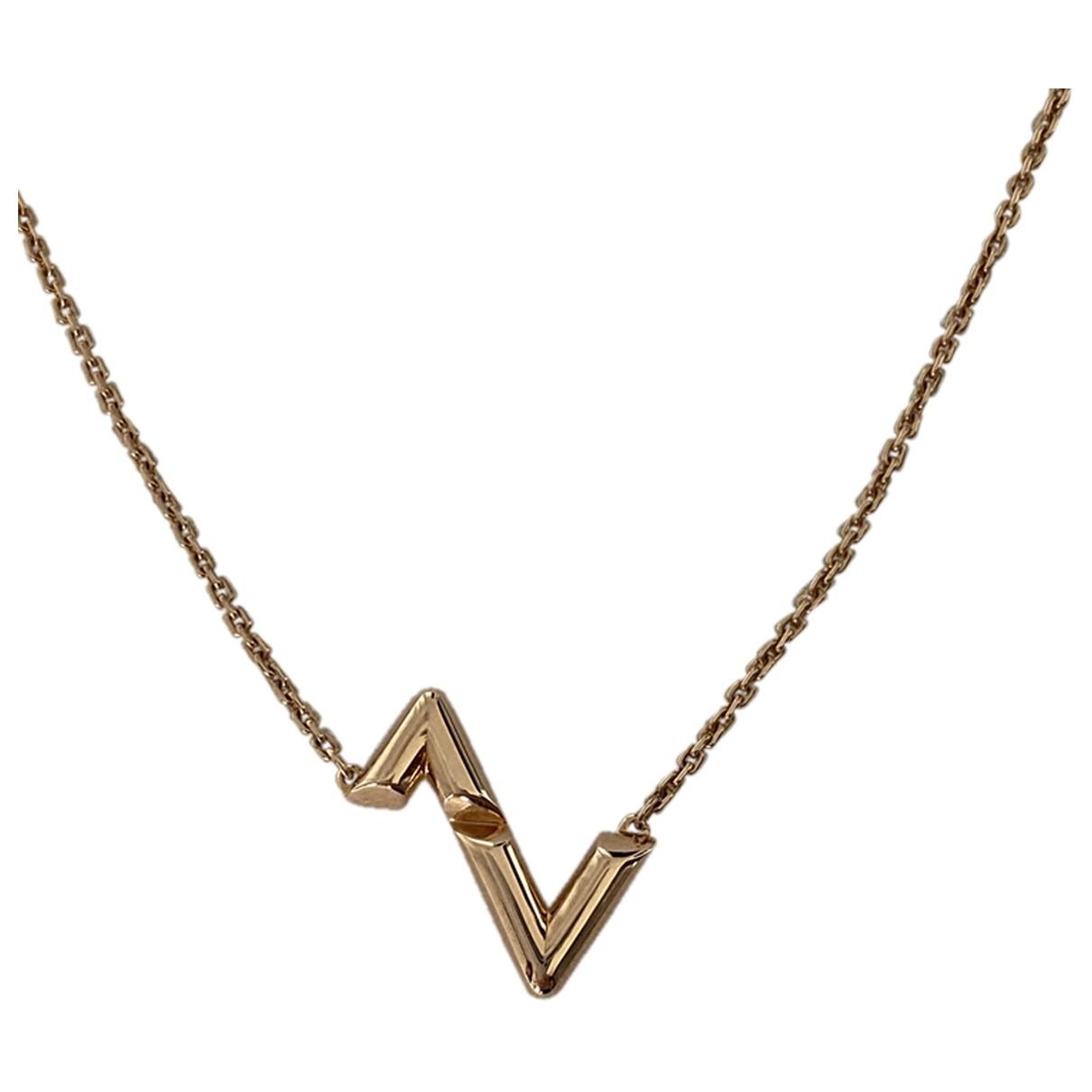 Collar de Oro rosa Louis Vuitton