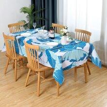 Tischtuch mit Blatt Muster
