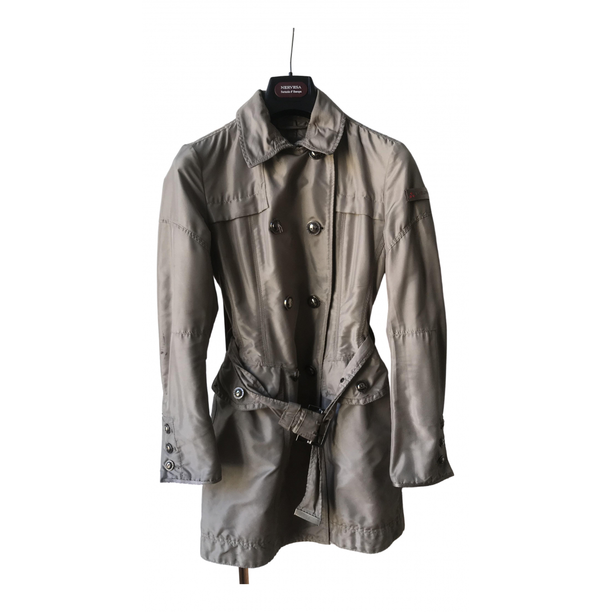 Peuterey \N Trench in  Beige Polyester