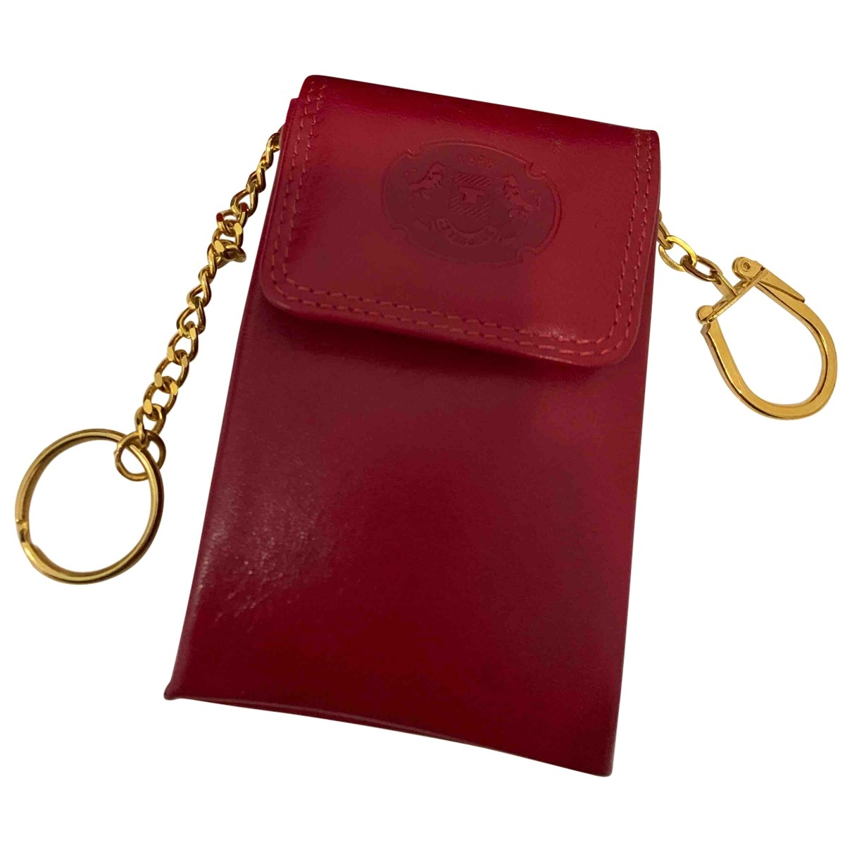 Le Tanneur \N Kleinlederwaren in  Rot Leder