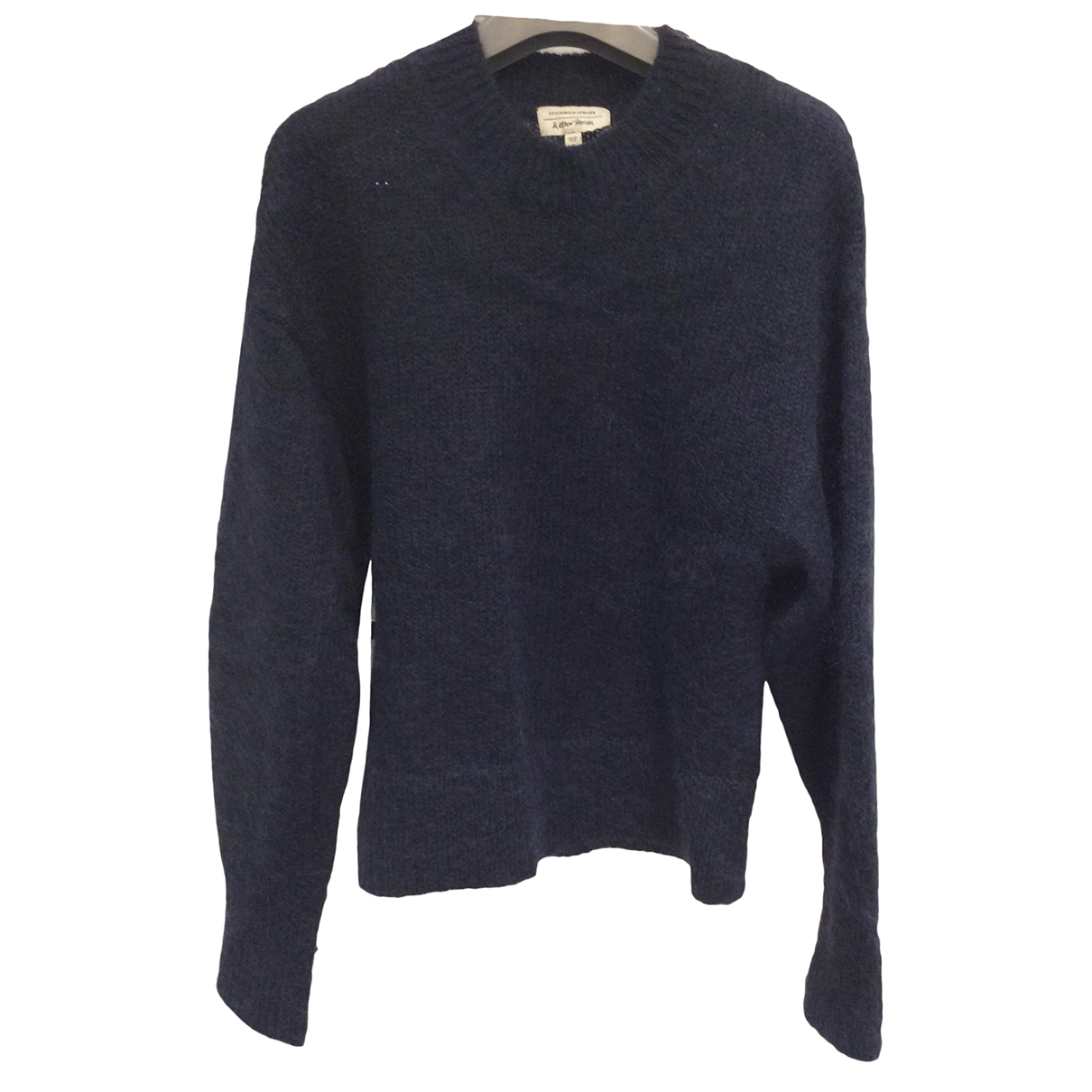 & Stories N Navy Wool Knitwear for Women XS International
