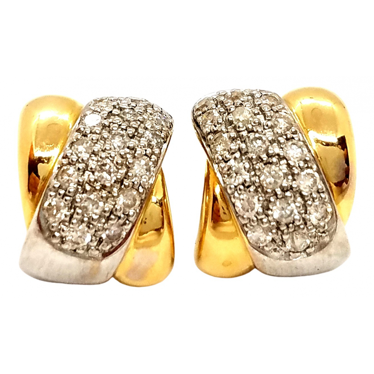 Autre Marque \N Gold Yellow gold Earrings for Women \N
