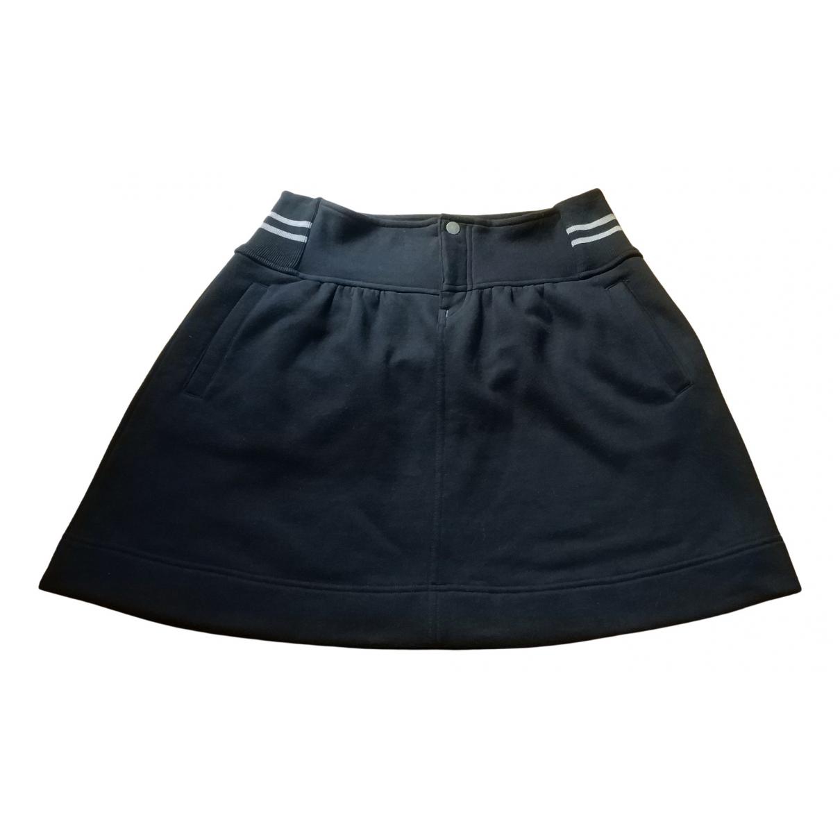Emporio Armani \N Black Cotton - elasthane skirt for Women S International