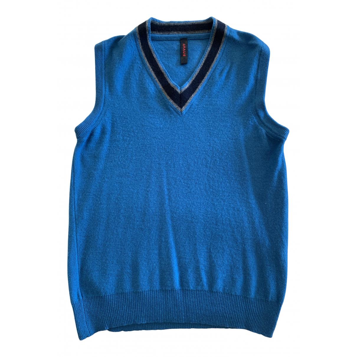 Coast Weber & Ahaus \N Pullover.Westen.Sweatshirts  in  Tuerkis Wolle