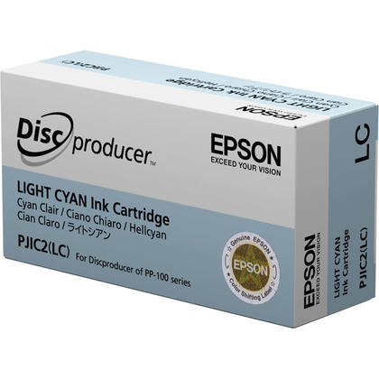 Epson PJIC2 C13S020448 cartouche d'encre originale cyan clair