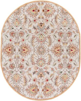 Caesar CAE-1029 8' x 10' Oval Traditional Rug in