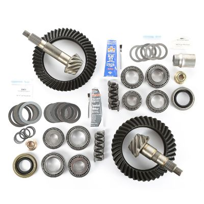 Alloy USA TJ Wrangler Front and Rear 4.56 Ring and Pinion Kit - 360033