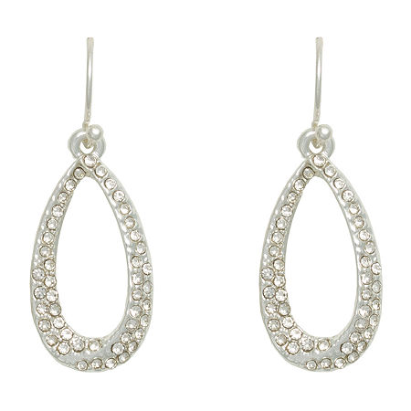 Mixit Hypoallergenic Drop Earrings, One Size , Gray