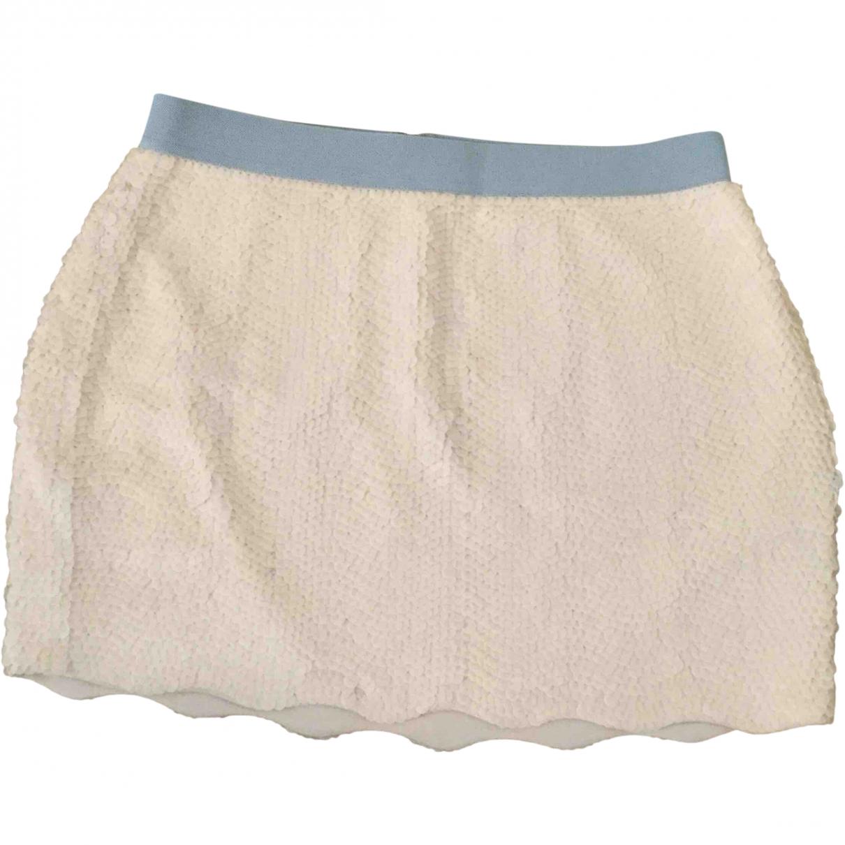 Bcbg Max Azria \N Beige skirt for Women 38 FR