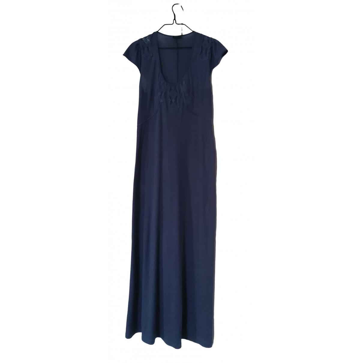 La Perla \N Kleid in  Blau Baumwolle