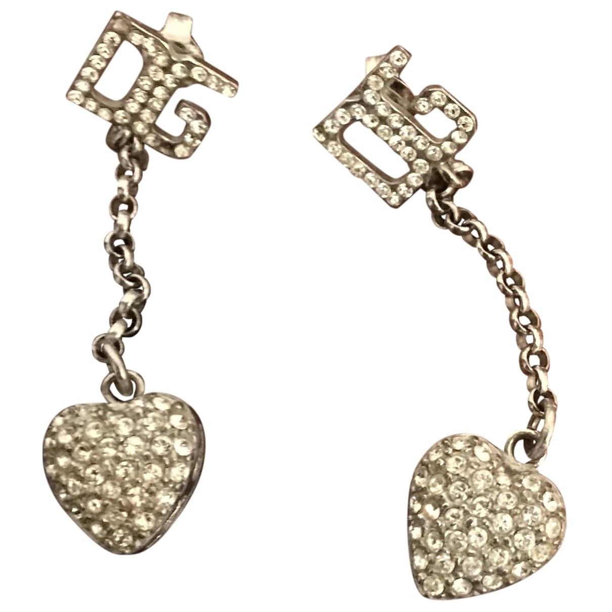 Dolce & Gabbana \N Anhaenger in  Grau Metall