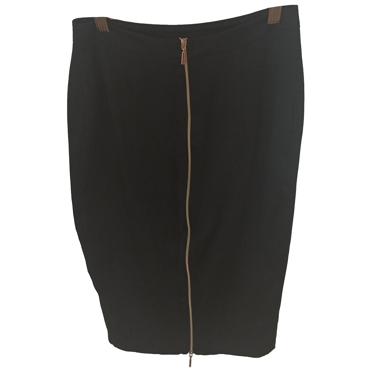 Blumarine \N Black Silk skirt for Women 40 IT