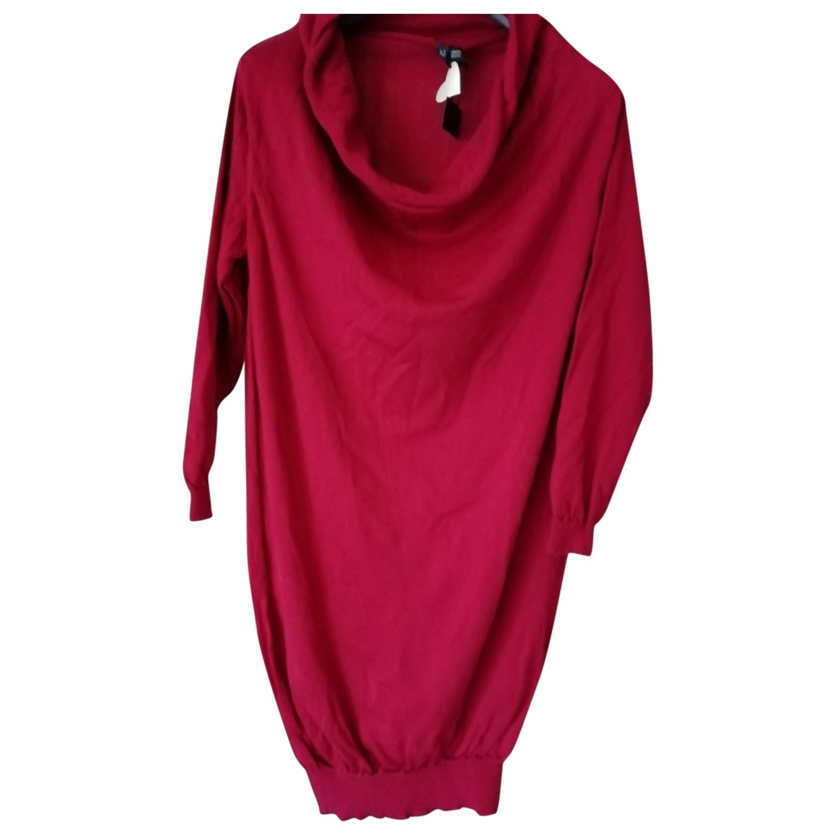 Armani Jeans \N Red Cotton dress for Women L International