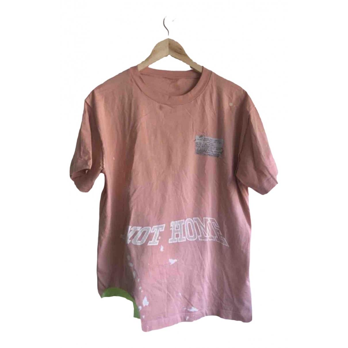 Louis Vuitton - Tee shirts   pour homme en coton - rose