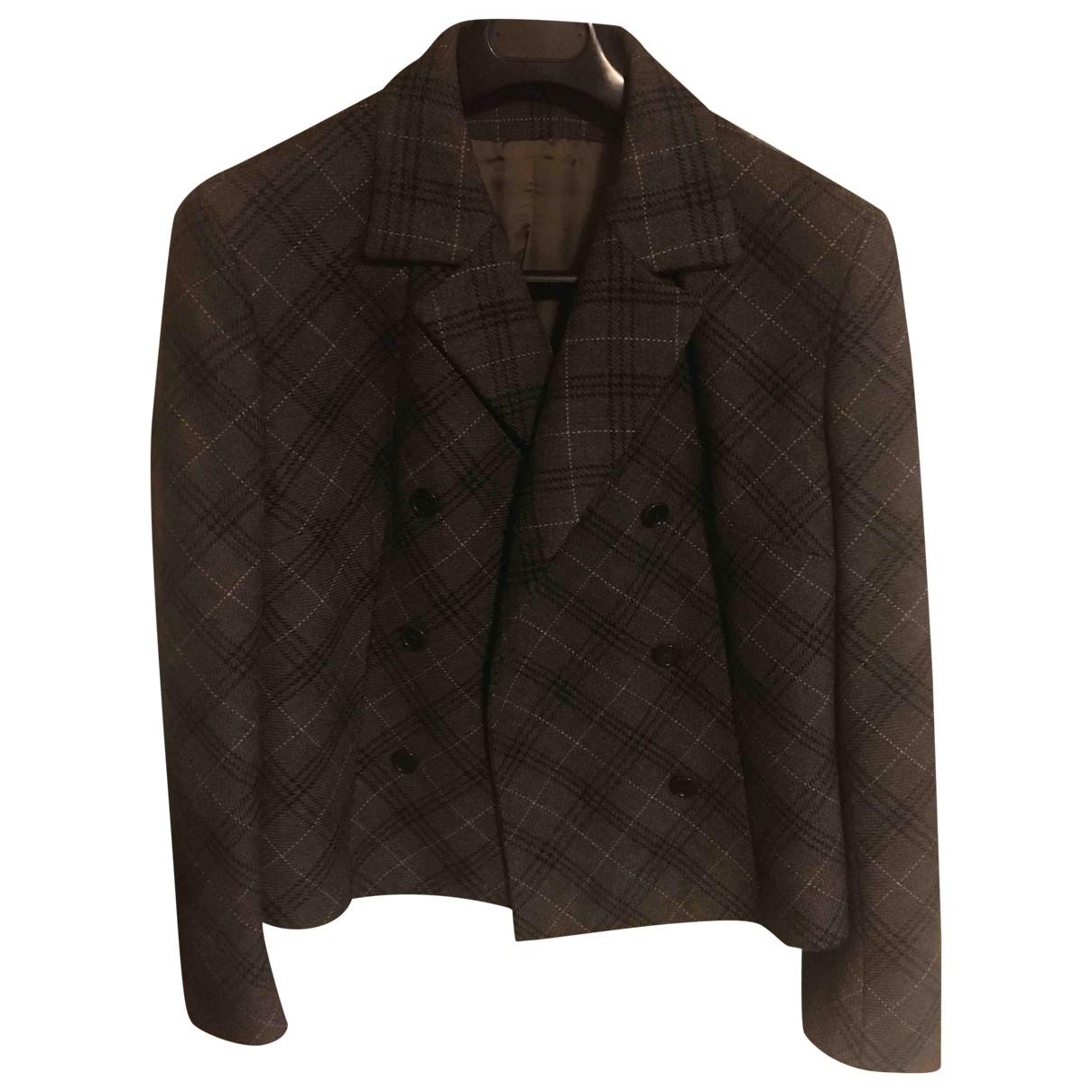 D&g - Jupe   pour femme en laine - gris