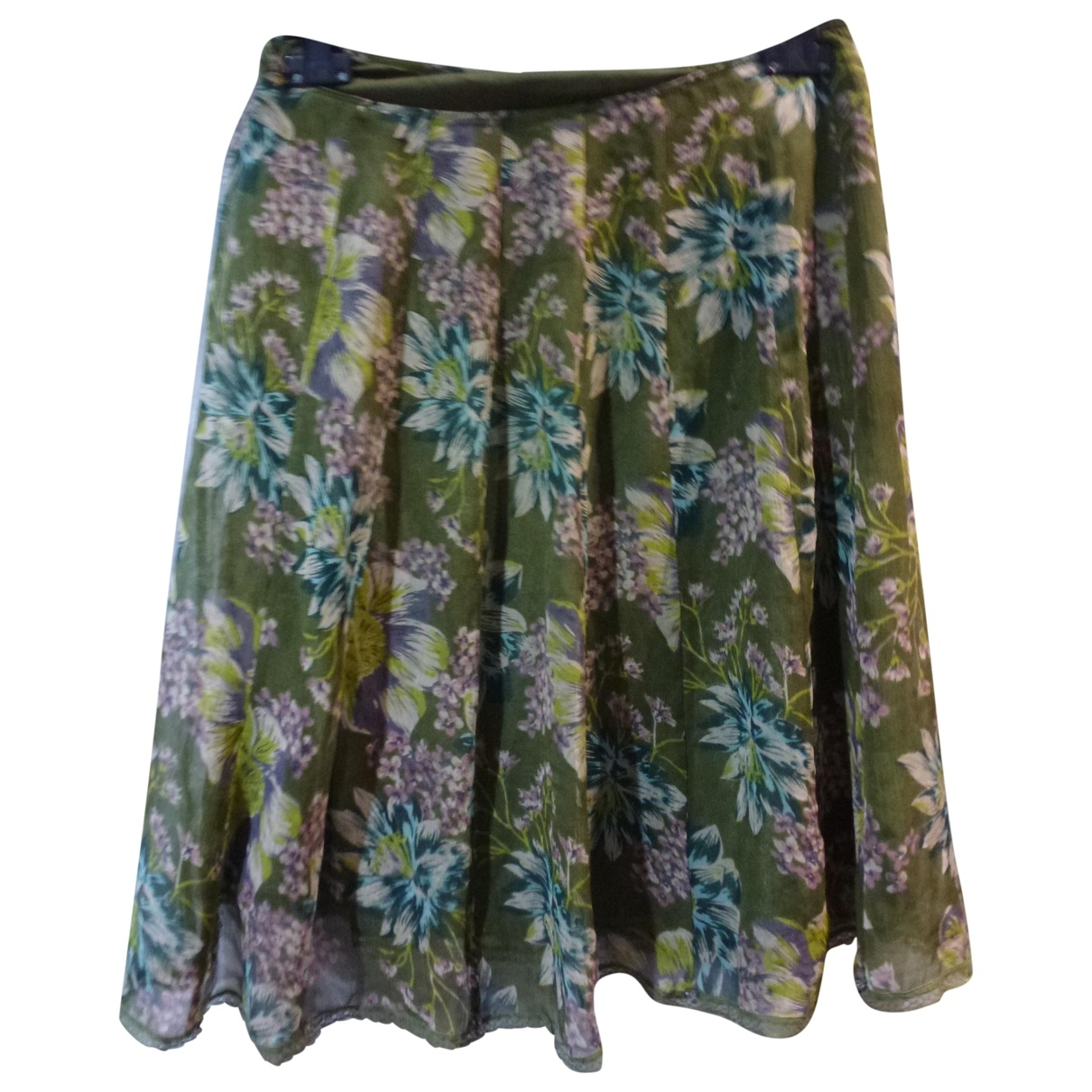 Non Signé / Unsigned \N Green skirt for Women 40 FR