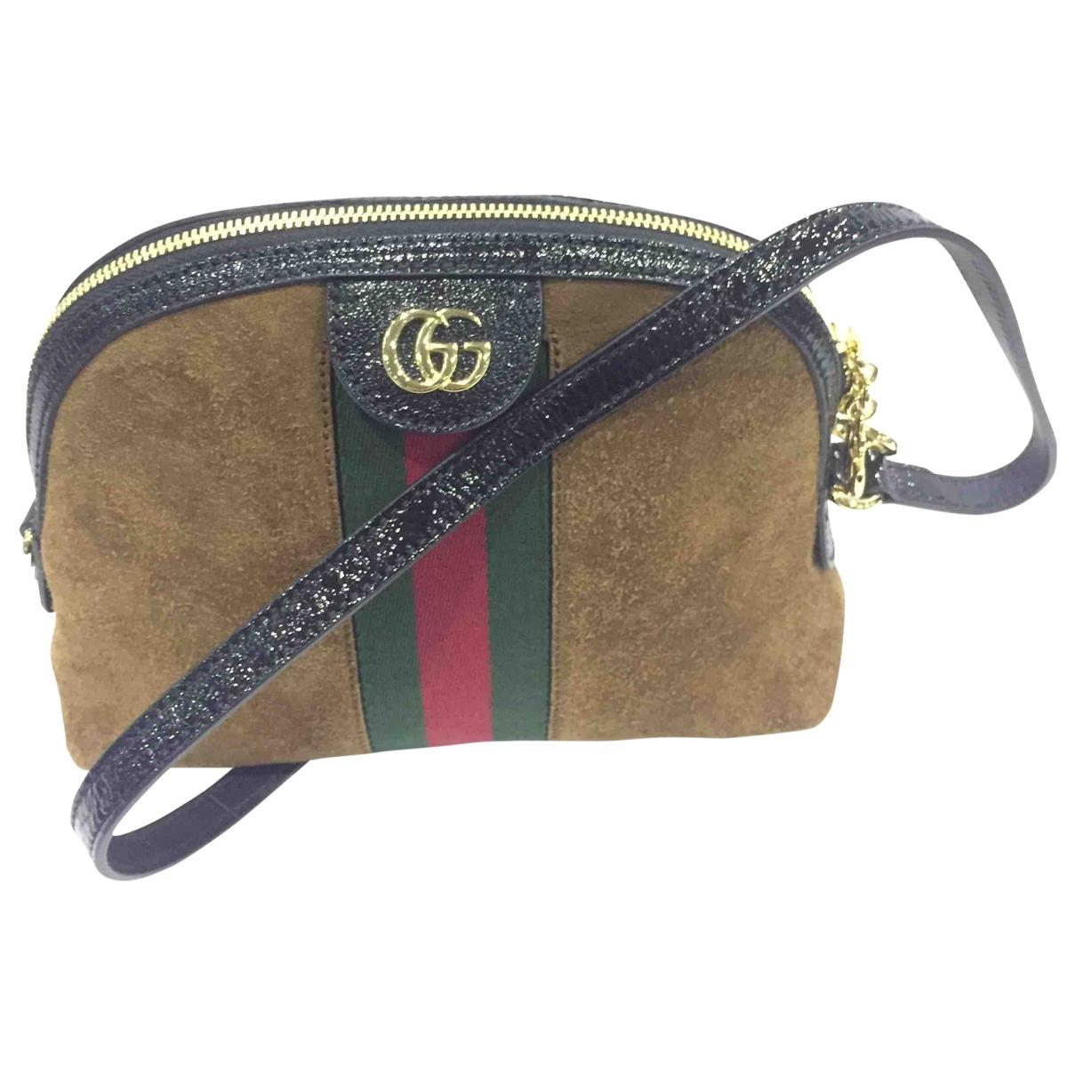 Gucci Ophidia Handtasche in  Bunt Veloursleder