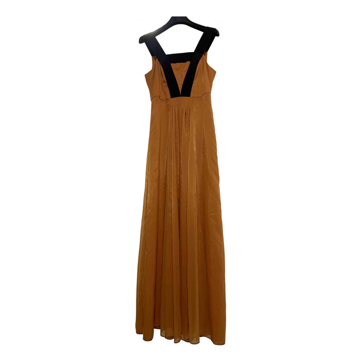 Emporio Armani \N Kleid in  Orange Synthetik