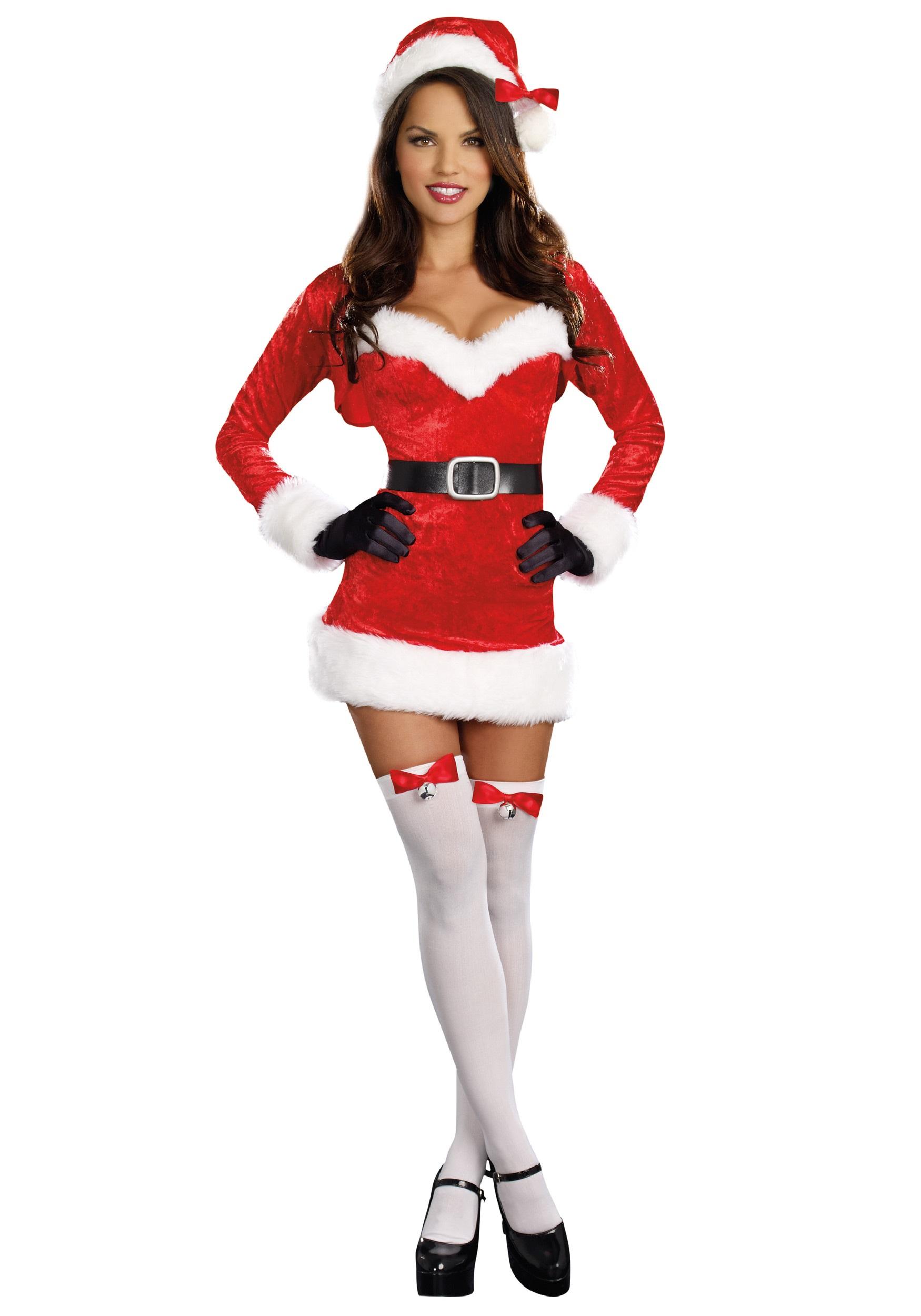 Sexy Santa Baby Costume For Women