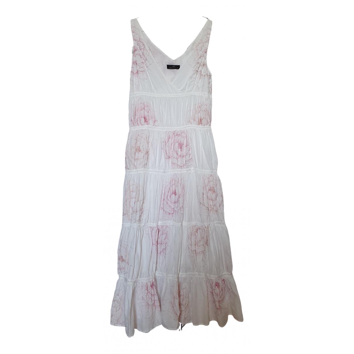 Day Birger & Mikkelsen \N Kleid in  Weiss Baumwolle