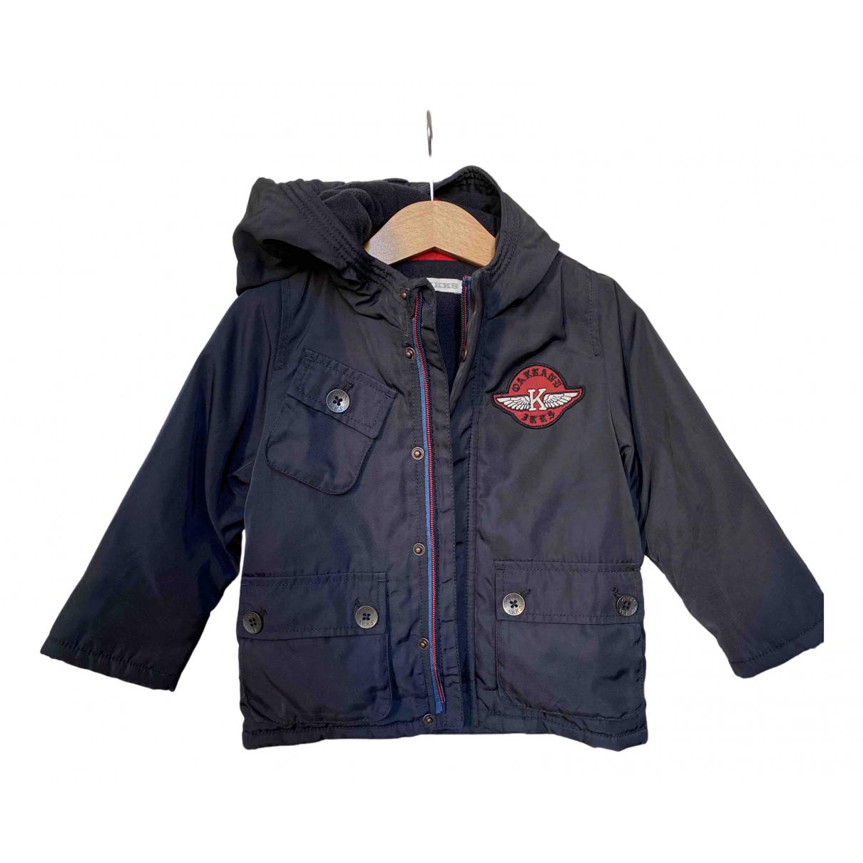 Ikks - Blousons.Manteaux   pour enfant - marine