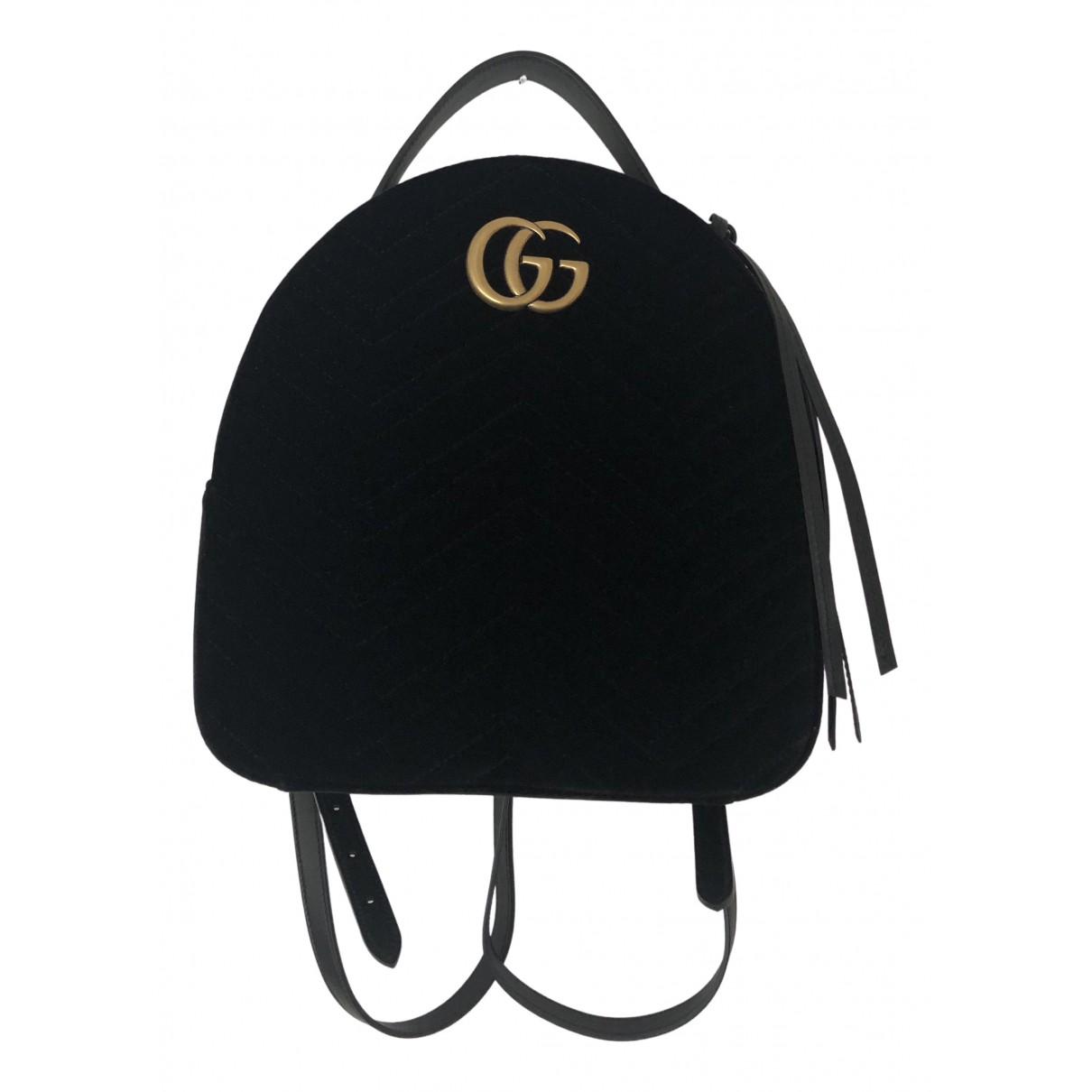 Mochila Marmont de Terciopelo Gucci