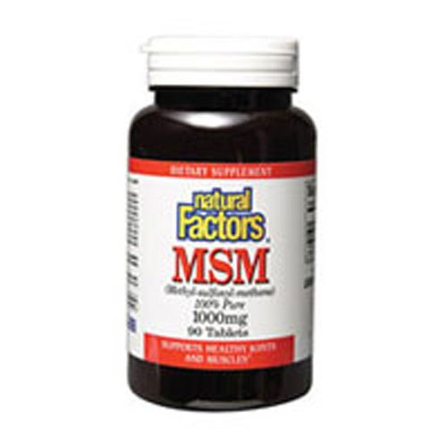 MSM 180 Tabs by Natural Factors