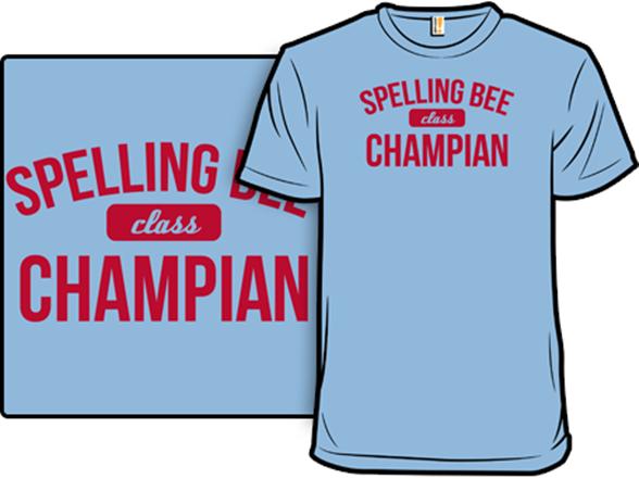 Spelling Bee T Shirt