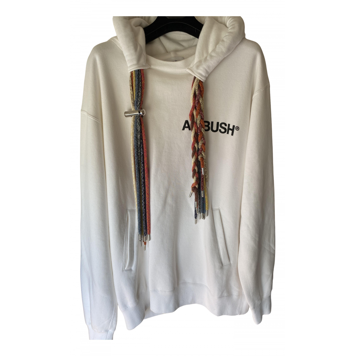 Ambush - Pulls.Gilets.Sweats   pour homme en coton - blanc