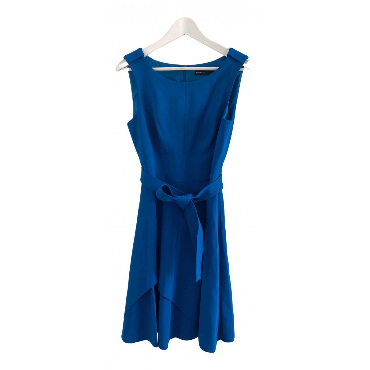 Karen Millen \N Kleid in  Blau Viskose