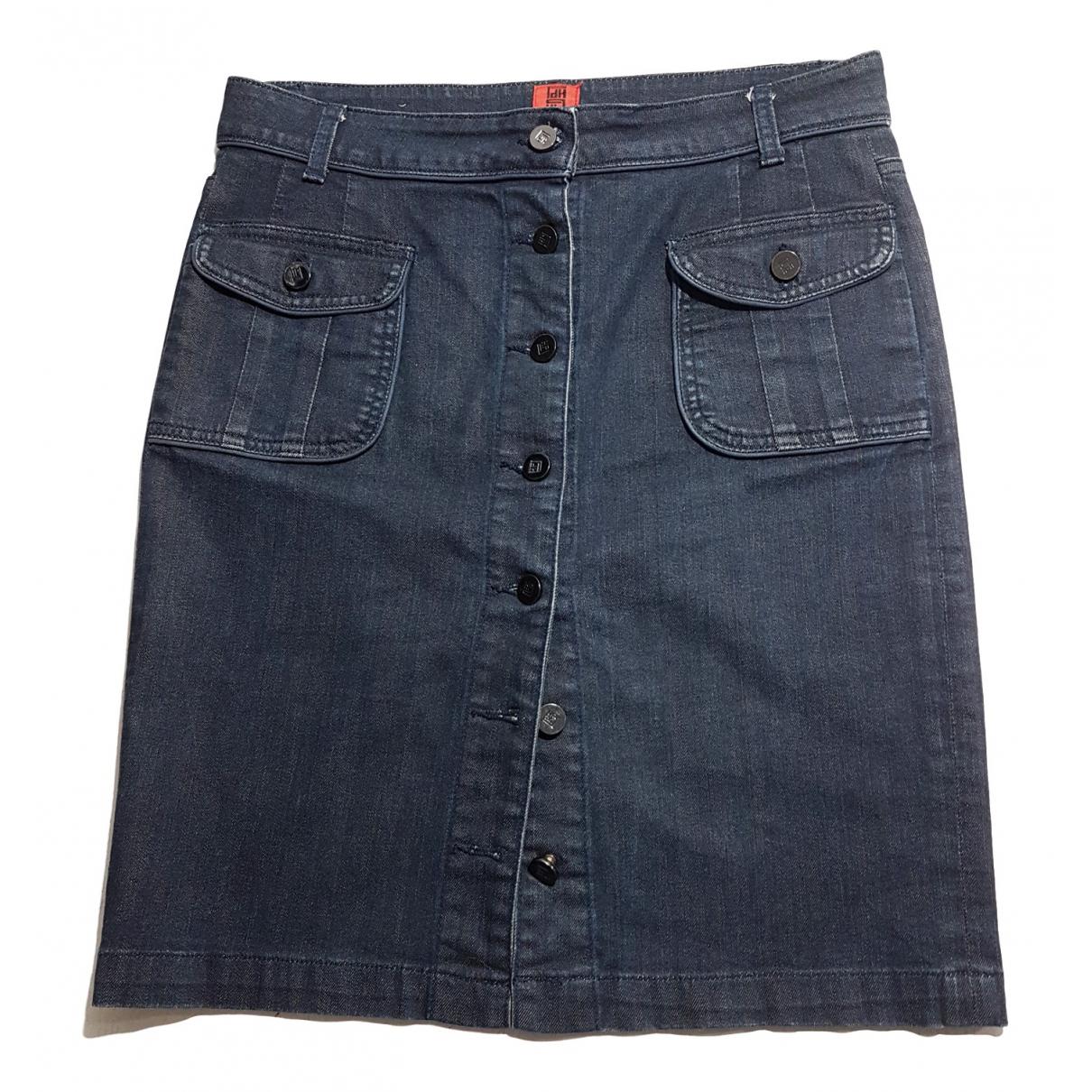 Pedro Del Hierro \N Rocke in  Marine Denim - Jeans