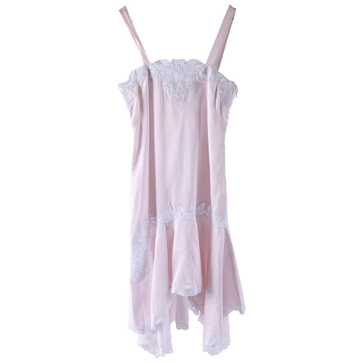 Jonathan Simkhai \N Pink Silk dress for Women 4 0-5