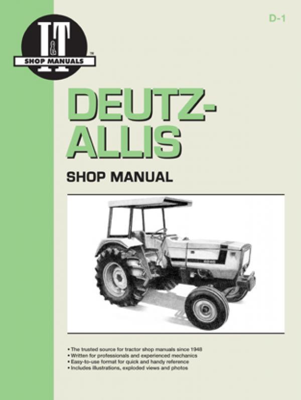 Deutz Allis Model 6240, 6250, 6260, 6265 & 6275 Tractor Service Repair Manual