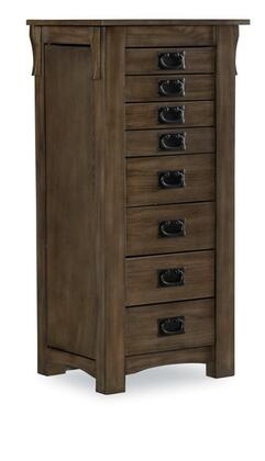 D1155J18G Ziva Collection Jewelry Armoire in