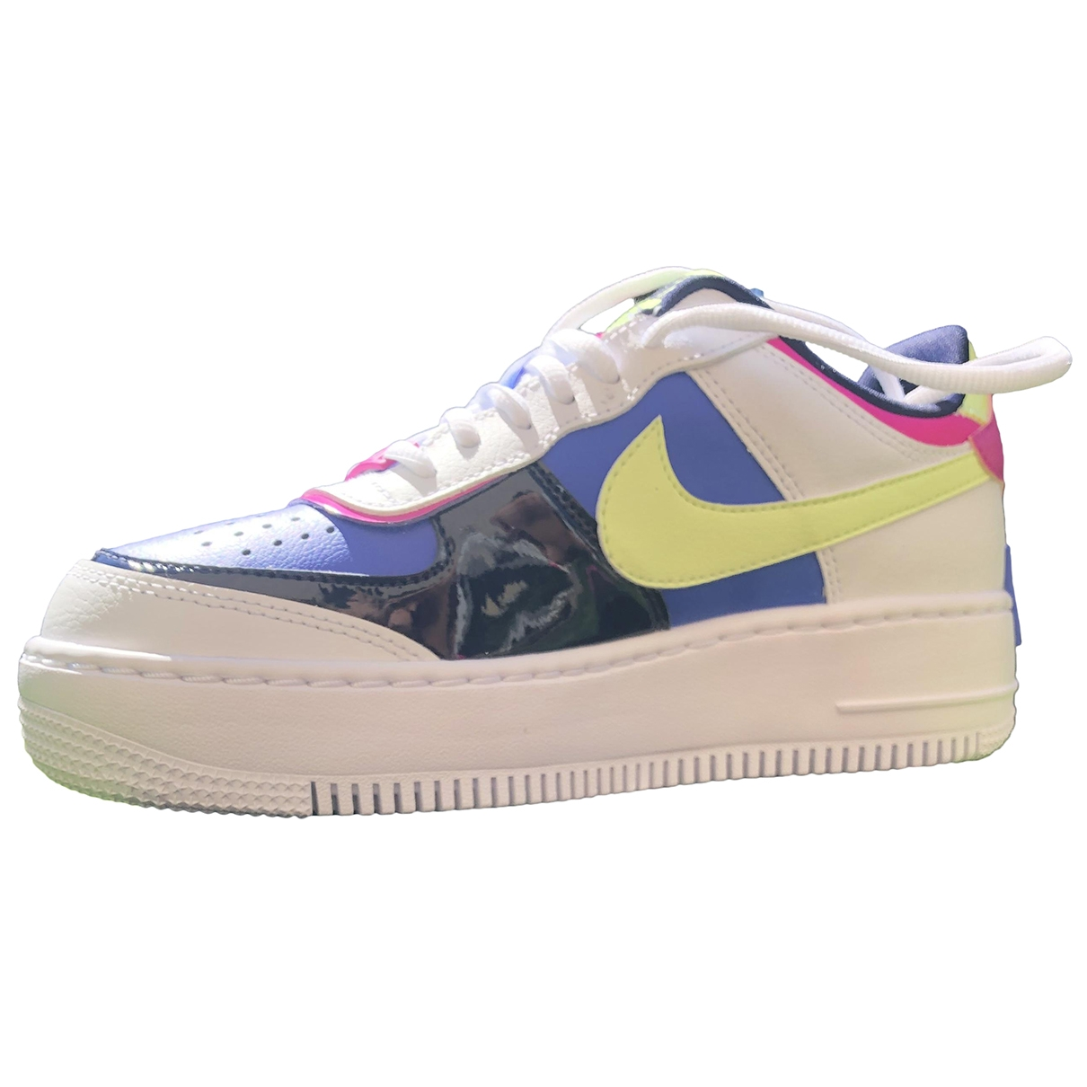 Nike Air Force 1 Sneakers in  Bunt Leder