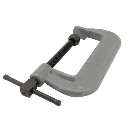 Wilton 100 Series Forged C-Clamp - Heavy-Duty, 6 In. to 10 In. Jaw Opening, 2-7/8 In. Throat Depth